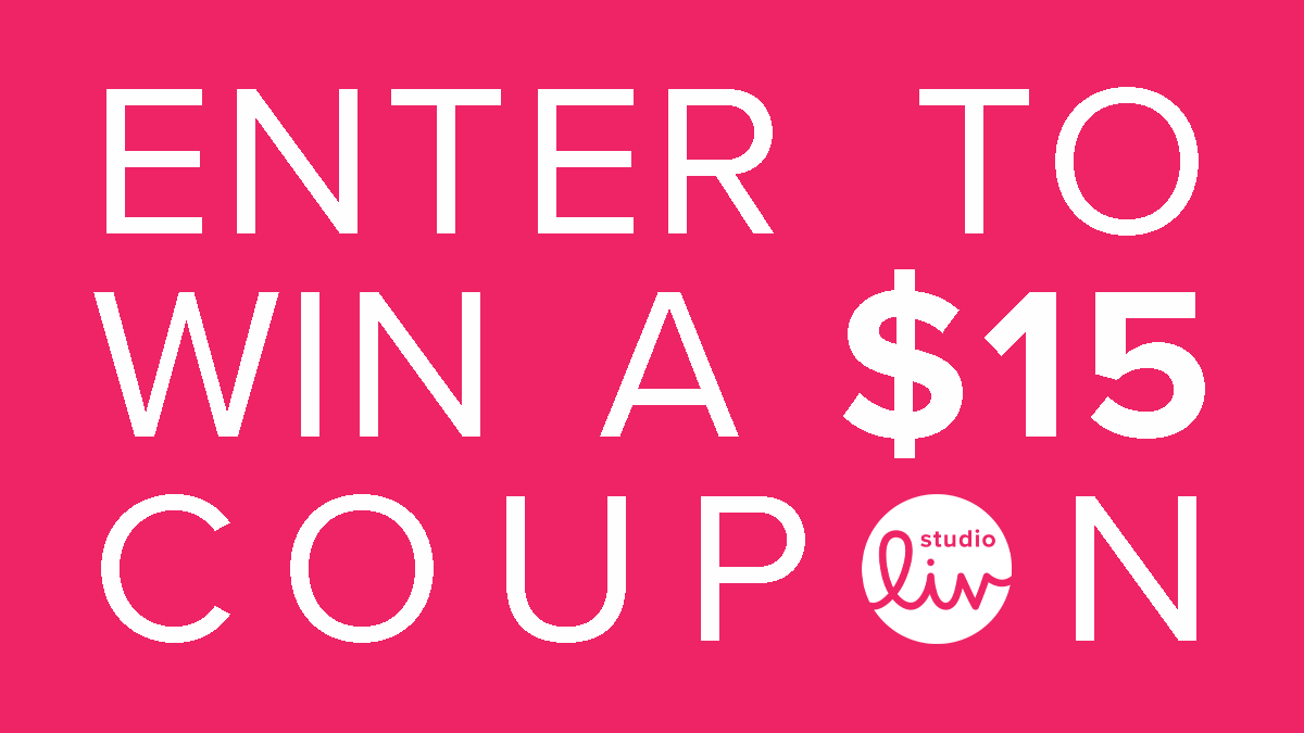 Enter to win a $15 coupon