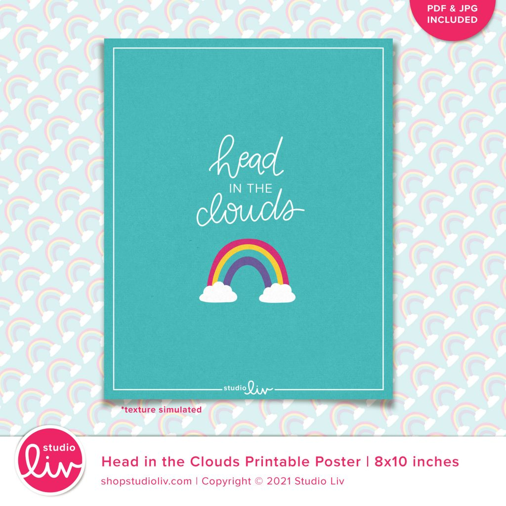 Head in the Clouds Poster preview