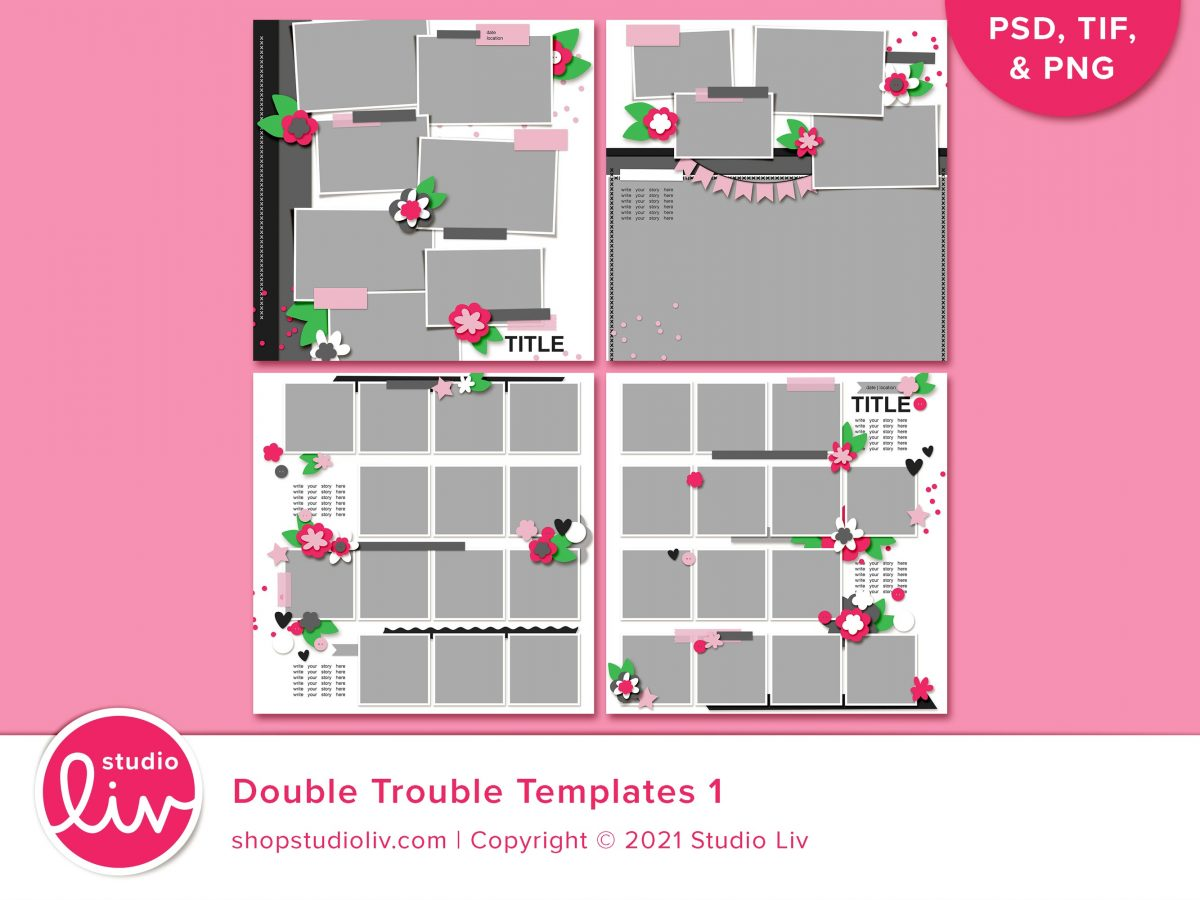Double Trouble Templates 1 preview
