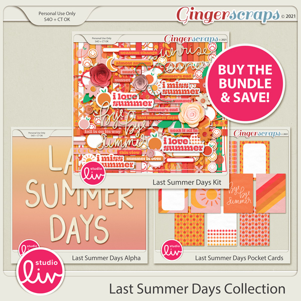 Last Summer Days Collection preview
