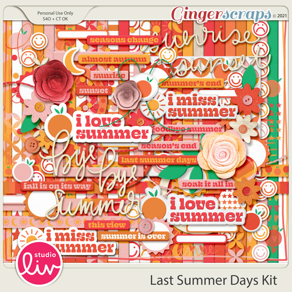 Last Summer Days Kit preview