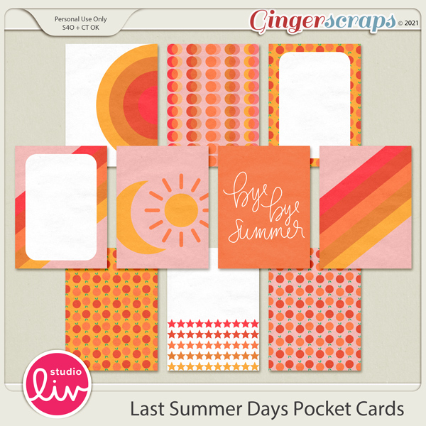 Last Summer Days Pocket Cards preview