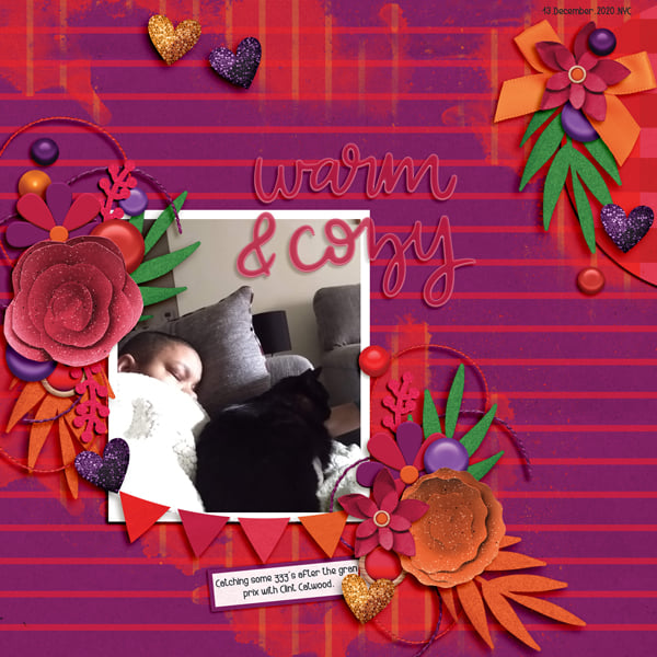 Layout by Claire
