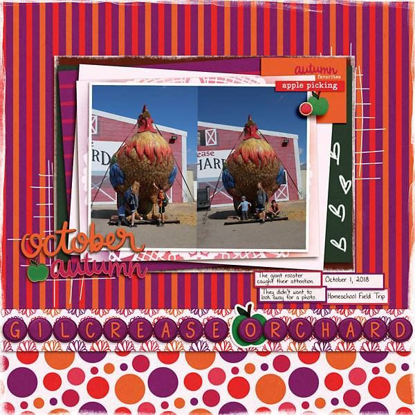 Layout by Courtney