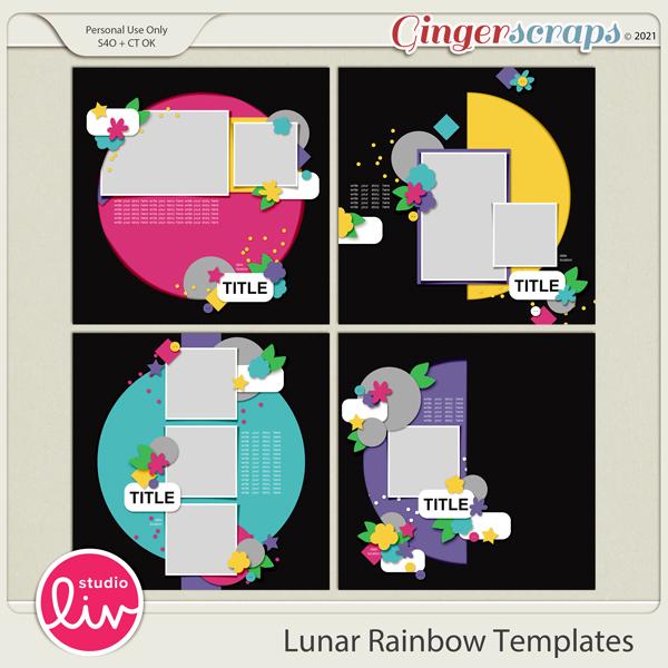 Lunar Rainbow Templates preview