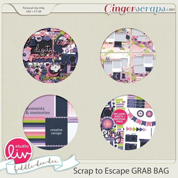 Scrap to Escape GRAB BAG preview