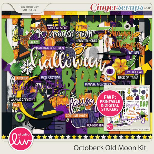 October's Old Moon Kit preview