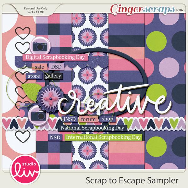 Scrap to Escape Sampler preview