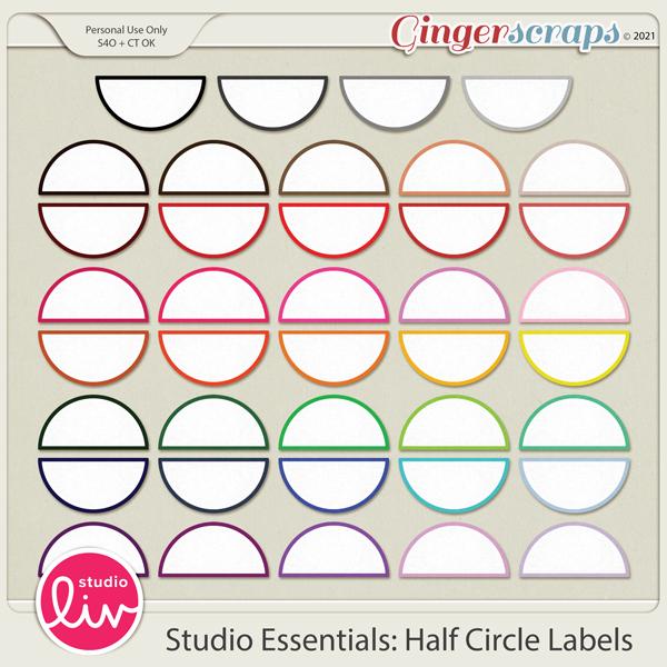 Studio Essentials: Half Circle Labels preview