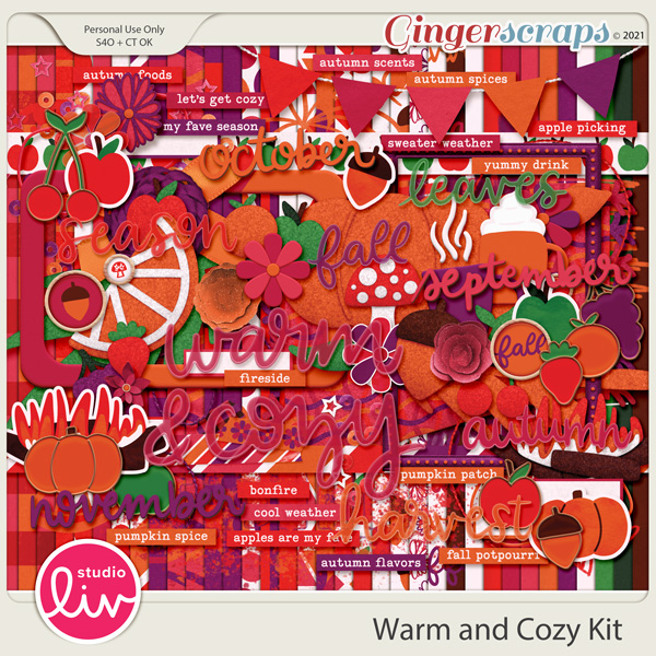 Warm and Cozy Kit preview